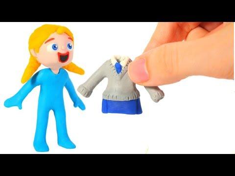 BABY PRINCESS GOES TO SCHOOL ❤ Superhero Babies Play Doh Cartoons For Kids