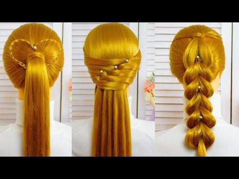 🌟Топ легкие прически в школу/Прически на каждый день/Amazing hairstyles tutorial compilation 2018🌟