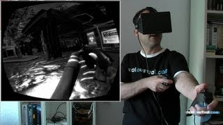 Zombies on the Holodeck con Oculus Rift y Razer Hydra