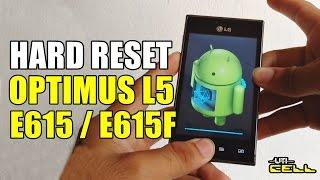 Hard Reset no LG E615 e E615f (L5) #UTICell