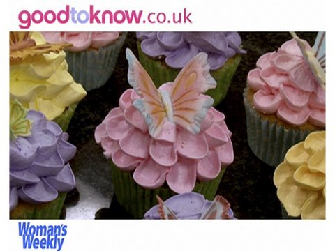 Butterfly Cupcakes on Perfect Cupcake Icing  How To Make Italian Meringue Buttercream  Part