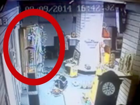 GHOSTS VIDEOS Ghost caught on tape at Barnsley Antique | Scary videos of ghosts caught on tape
