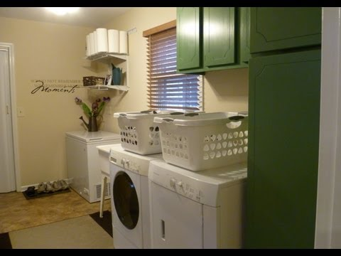 Laundry Organization and Tour: How to organize your laundry room