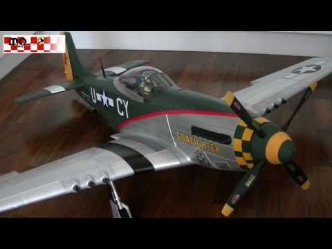 RC P-51 Mustang Warbird XXL 1600mm Review