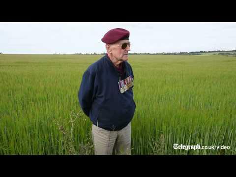 War veteran recalls D-Day jump