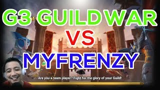 [ENG SUB] Guardian 3 Guild Wars VS MY Frenzy - Summoners War Indonesia