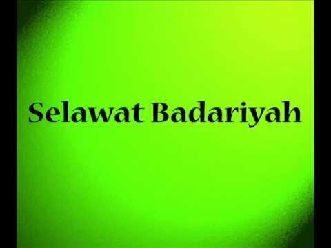 Selawat Badariyah