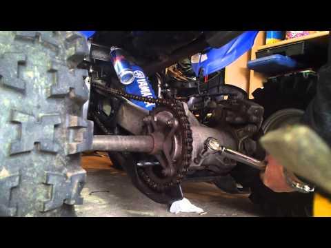 Yamaha Raptor 700 Chain Tension