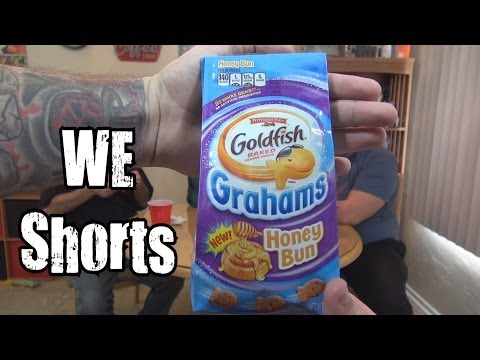 WE Shorts - Goldfish Grahams Honey Bun