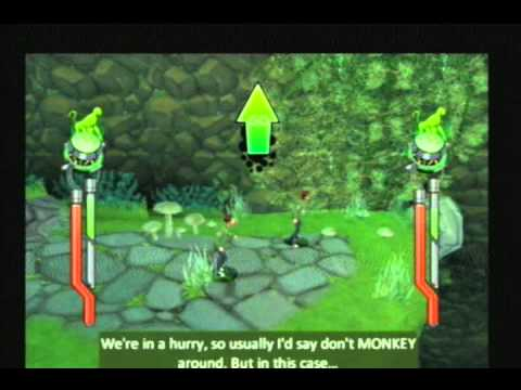 Ben 10 Alien Force The Game Mission:The Forest Medieval Part 1