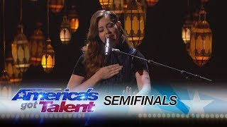 Mandy Harvey Deaf Singer Moves Crowds With Original Song America 39 S Got Talent 2017
