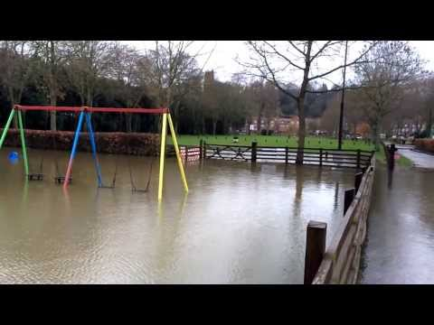 UK Floods 2014 - Bridgnorth