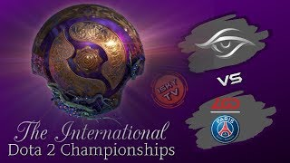 Team Secret vs PSG.LGD / [EN] / Bo2 / The International 2019 / Dota 2 Live / Group Stage