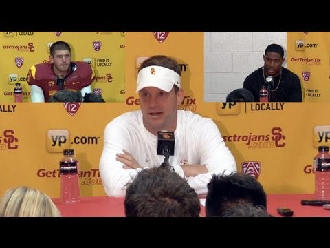 USC Football Post Game Presser - Notre Dame