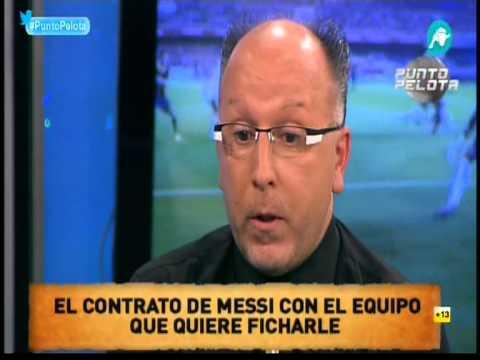 He recibido amenazas de muerte, a Messi le ofrecen 4 años y 25 millones netos por temporada.