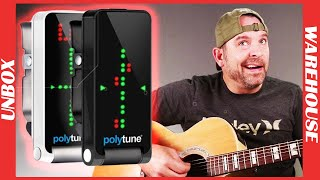 Tune All Your Strings at Once!  Polyphonic Tuning. TC electronic guitar tunings review