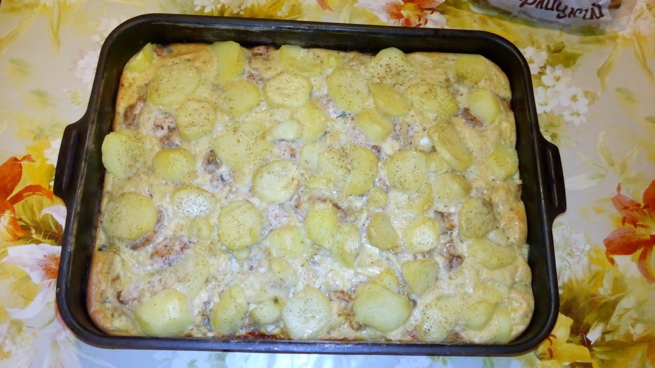 Рецепт брокколи с куриным филе в духовке рецепт