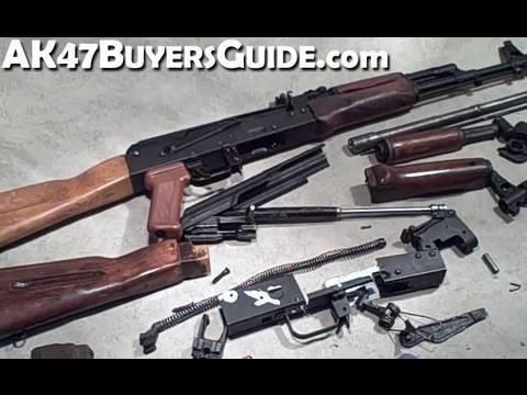 Bulgarian AK74 Parts Kit