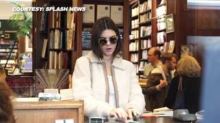 (VIDEO) Kendall Jenner No Makeup Looks AMAZING, Sightseeing In Paris