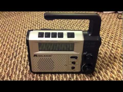 Midland 2 Way Radio with Emergency Crank Review