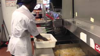 Popeyes, behind the scenes video visit