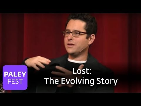 Lost - JJ Abrams on the Evolving Story (Paley Center)