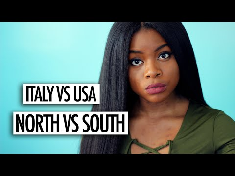 ITALY VS USA   NORTH VS SOUTH PT 2 (EDUCATION, CRIME, FOOD + STYLE)