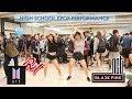 High School Club Fair KPOP Performance (BTS, NCT, BLACKPINK, RED VELVET) [KPOP IN PUBLIC CHALLENGE]