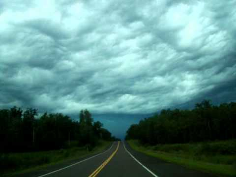 Severe Thunderstorm near Danbury, WI aug 13th 2010 2