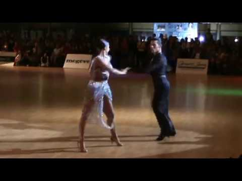 Idsf International Open Latin   Dsfo 2011    Alex Zampierollo And Elza Pole -- Solo Samba video
