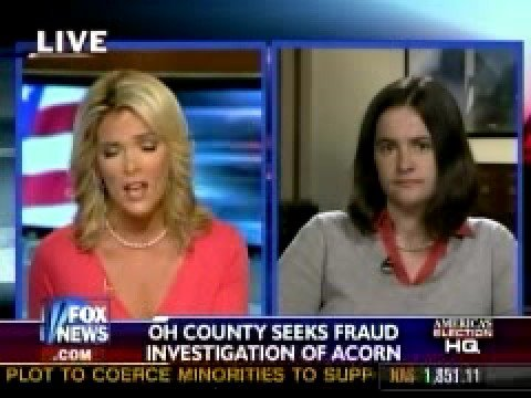Megyn Kelly Owns ACORN Ohio Voter Fraud Specialist