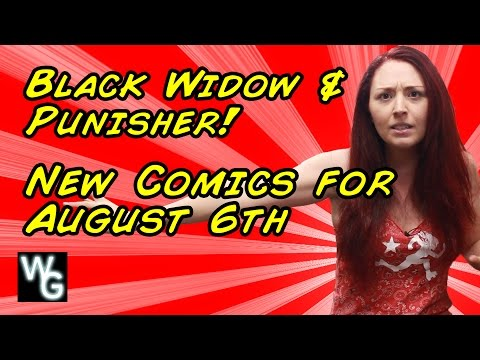 Black Widow with The Punisher! - New Comcs for August 6th