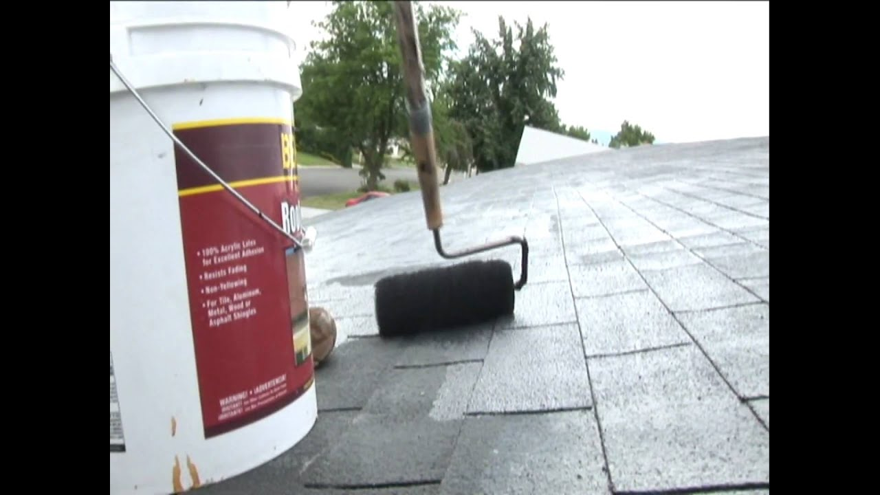 Ludwig Painting Asphalt Roof Paint Behr Product