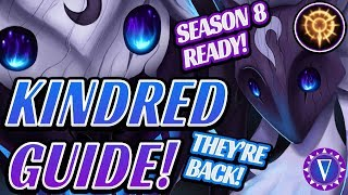 Rank Up With Kindred - Season 8 Ultimate Guide (With New Runes!)
