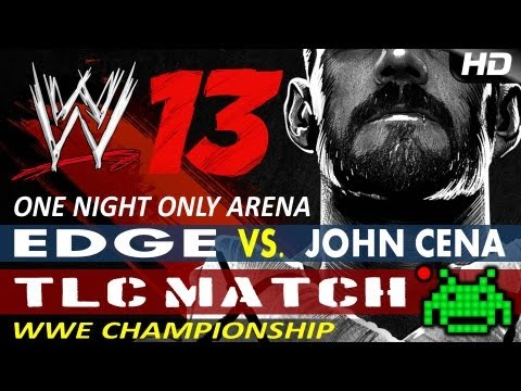 Wwe '13 - Edge (champ) Vs John Cena - Tlc - (wwe Championship) video