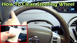 How to Clean and Restore Your Leather Steering Wheel