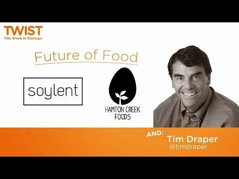 The future of food and Tim Draper's state of California | Launch Festival 2014
