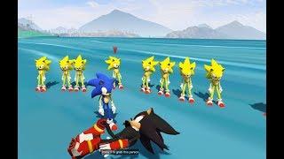 GTA 5 - Đại chiến Sonic Xoay chuyển càn khôn   GHTG 4K