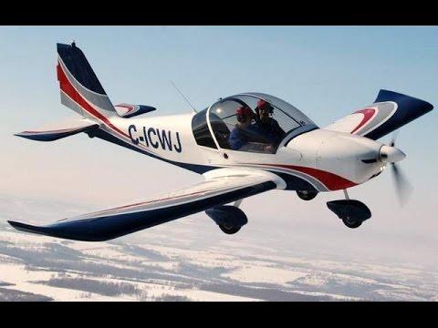 Flight Simulator Landing Evektor Sportsta at San Pedro Ambergris Cay