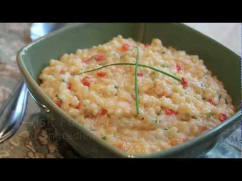 Israeli Couscous & Cheese -- Easy Mac & Cheese Recipe Using Israeli Couscous