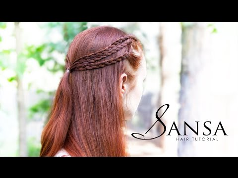 Game of Thrones Hair Tutorial - Sansa Triple Braids
