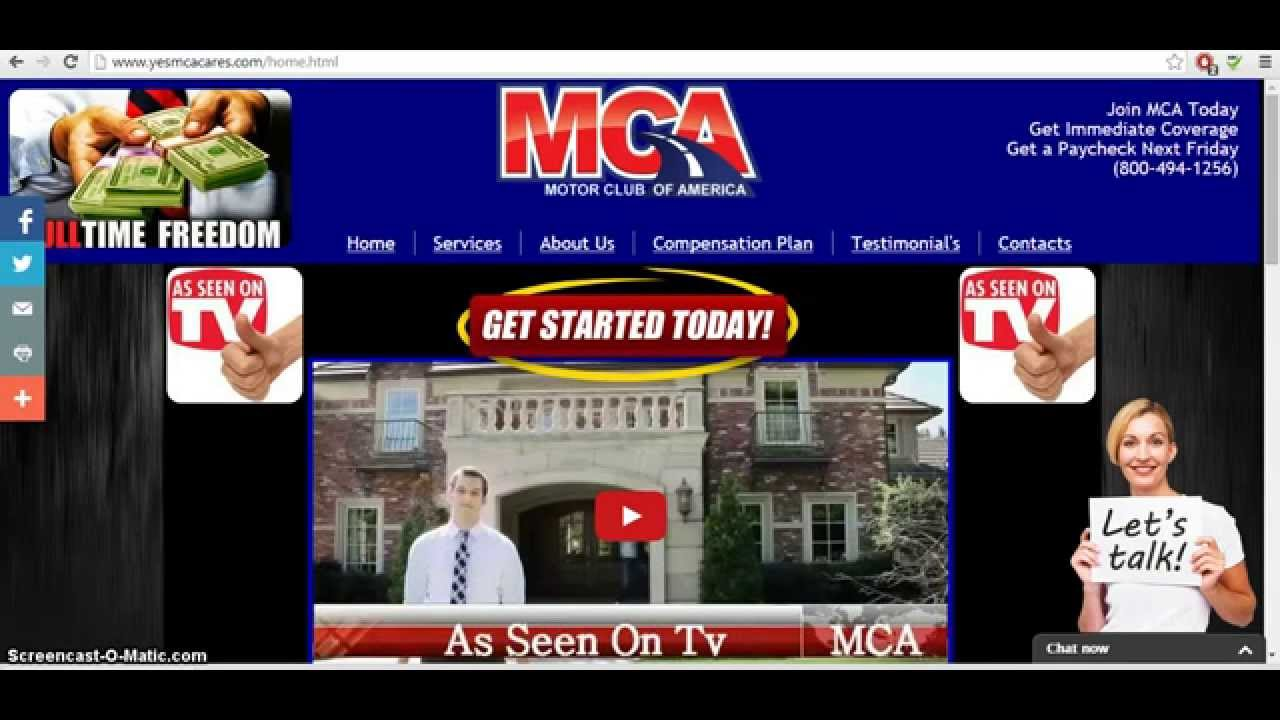Motor club of america review and compensation plan with for Motor club of america reviews