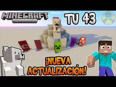 Minecraft - ¡NUEVA ACTUALIZACIÓN REVIEW TU43! - Xbox 360/ONE/PS3/PS4/PSVita/ Wii U