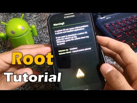 [Tutorial] Root Jelly Bean 4.1.2 Samsung Galaxy S3