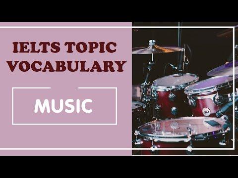 IELTS Vocabulary band 8 : music