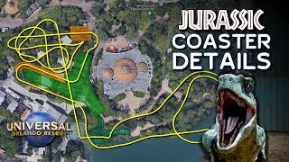 Track Layout and Details Revealed for Jurassic Park Coaster at Universal Orlando - ParksNews
