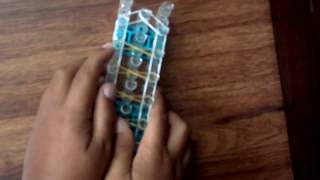 Rainbow Loom Tutorial: How To Make An Infinity Sign Bracelet!