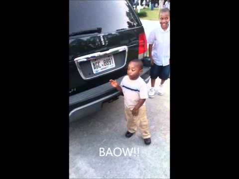 6 year old dancing Lil B Charlie Sheen