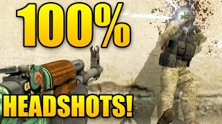 100% HEADSHOT RATE IN CSGO Matchmaking 30+ Kills - NEW MOUSE!