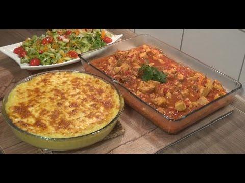 Tavuk Sote ve Kaşarlı Patates Püresi Tarifi Videosu